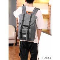 Tas Import Tas Pria Batam Herschel Little America Backpack VC* H001
