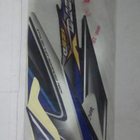 Striping Sticker Lis Body Supra X 125 D 2006 biru