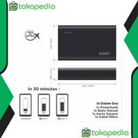 Promo Powerbank Aukey 10 500 mAh Quick Charge 3 0 Murah berkualitas
