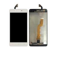 Lcd dan touchscreen Oppo R7f Ori fullset frame white