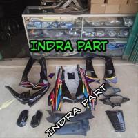 cover full body halus kasar motor supra x 2001 2004 Lim mt8