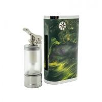 Asmodus Pumper 18 Squonk Box Mod Green Authentic Terlaris