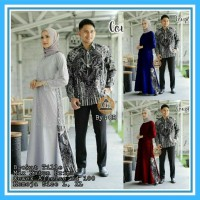 batik couple baju pesta sarimbit gamis kebaya couple muslim zahra