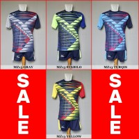 Setelan Voli Volly Volley Mizuno MZ13 (Baju Kaos Jersey Olahraga)