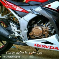 aksesoris delta box cbr 150 facelift body cover delta box cbr k45g