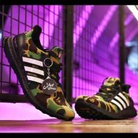 BAPE x Adidas UltraBoost 4.0 - Green Camo