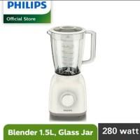 Philips Blender HR 2106 / HR2106 Kaca - Putih Promo Termurah