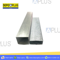 hollo/hollow Galvanis Aplus 4x4 (0,25) putih rangka gypsum plafon