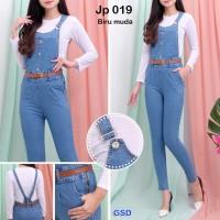 Grosir Dress-jumpsuit wanita murah bahan jeans-Jp 019