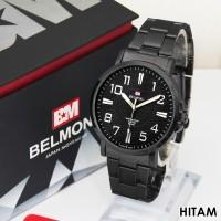 Jam Tangan Pria Rantai Belmont BM 6006 Silver NEW