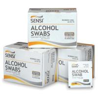SENSI ALCOHOL SWAB ISOPROPYL ALCOHOL 70% PRAKTIS ISI 50 PCS