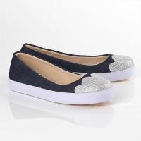 Sepatu slip on santai anak perempuan flat shoes muruah ori INFkids
