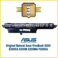 Baterai Battery Laptop Asus X200 X200M X200MA X200CA Original