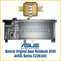 Original Baterai Asus A555L A555LA X555 X555LA X555MA X555LN X555SJ