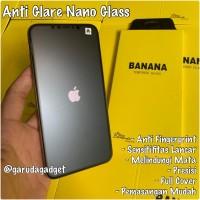 Matte Nano Tempered Glass iPhone Xs Max Xs X XR Antigores Screen Glare