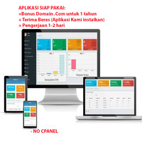 Paket Siap Pakai aplikasi kasir dan inventory stok barang berbasis web