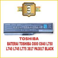 Baterai Original Laptop Toshiba satellite C600 L740 L745 C640 C645