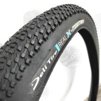 Ban Luar Sepeda MTB 27.5 x 2. 10 Hitam. DELI TIRE - REAL X. PROMO!!