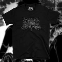Online Culture Metal Logo Black T-Shirt