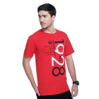 T Shirt Persija est.1928/RED Red