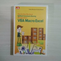 Buku membuat aplikasi inventaris menggunakan Microsoft vba excel ori