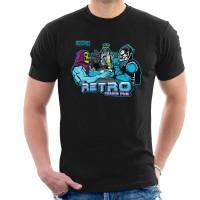 Kaos Retro Villain Pub T-shirt