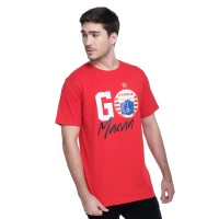 T Shirt Go Macan/RED White