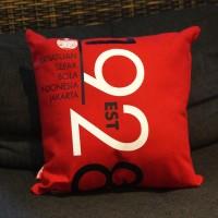 Sofa Pillow 1928 Red