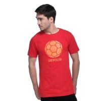 T Shirt Persija Football/WHT Red