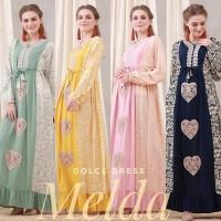 Dolce Dress Gamis Melda Ori. Daster Arab India Dubai Abaya Baju Muslim