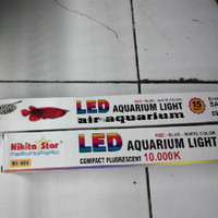 LAMPU LED ARWANA AROWANA NS 601 60CM AQUARIUM TANNING