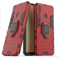 Vivo Y95 Soft Hard Case Cover Spigen Iron Armor Plus Ring