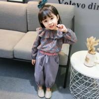 Setelan celana anak perempuan/baju import anak