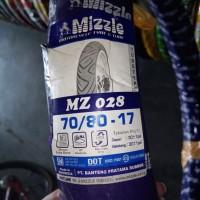 Ban Luar Motor 17 Ring Pelek 17 Mizzle 70/80-17 MZ 028 Non Tubeless