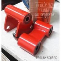 Peninggi Shock Prolink Unitrack Belakang Yamaha Scorpio