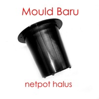 Netpot Hidroponik 5cm Polos Hitam Hydroponic