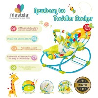 MASTELA NewBorn To Toddler Rocker / Kursi Duduk Goyang-GREEN PARK-6920