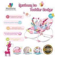 Mastela NewBorn To Toddler Rocker / Kursi Goyang-PINK SWEET HEART-6921