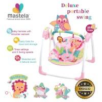 MASTELA Deluxe Portable Baby Swing / Kursi Duduk Ayun Bayi - PINK-6519