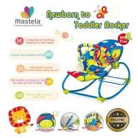 MASTELA NewBorn To Toddler Rocker / Kursi Duduk Goyang- BLUE SKY- 6922