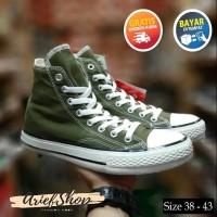 Sepatu Converse All Star Boot Hijau Army High Army Harga Grosir