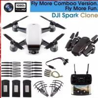 DJI Spark Clone SG700 FPV RC Drone w Dual 5MP Wide Angle HD Wifi Cam