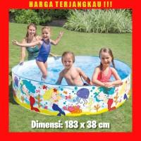 Kolam Renang Anak Intex Tanpa Tiup Pompa Angin Ukuran 183 x 38 cm