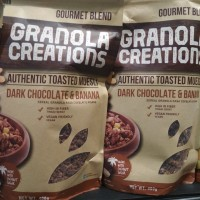 sereal Granola Creations Dark Choco & Banana 400gr