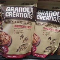 sereal Granola Creations Cinnamon & Raisin 400gr
