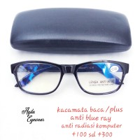kacamata baca/plus anti blue ray 284