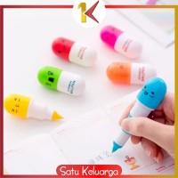 SK-A4 Pulpen Emoticon Vitamin/Pen Unik / Pena Kapsul / Pulpen Souvenir