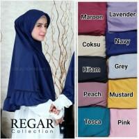 GROSIR!! kerudung ZOYA by regarcollection hijab bergo instan jilbab .