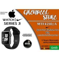 Apple Watch Series 3 MTF42 iBox Nike+ 42mm Black Sport Band MTF42-ID/A