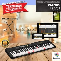 Keyboard Casio LK-S250 + Xstand / LKS250 / LKS 250 Lighted Key